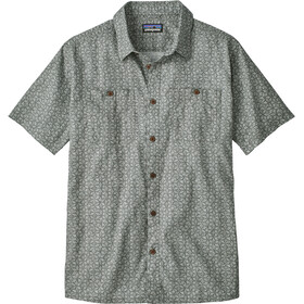 Patagonia M's Back Step Shirt Batik Hex Micro: Hex Grey